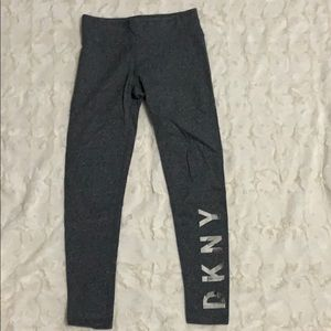 S/P leggings from DKNY in the color grey